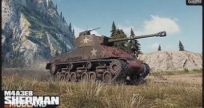 4A3E8 Sherman Skin - Rice's Red Devils 1.0.2.1 [1.0.2.1]
